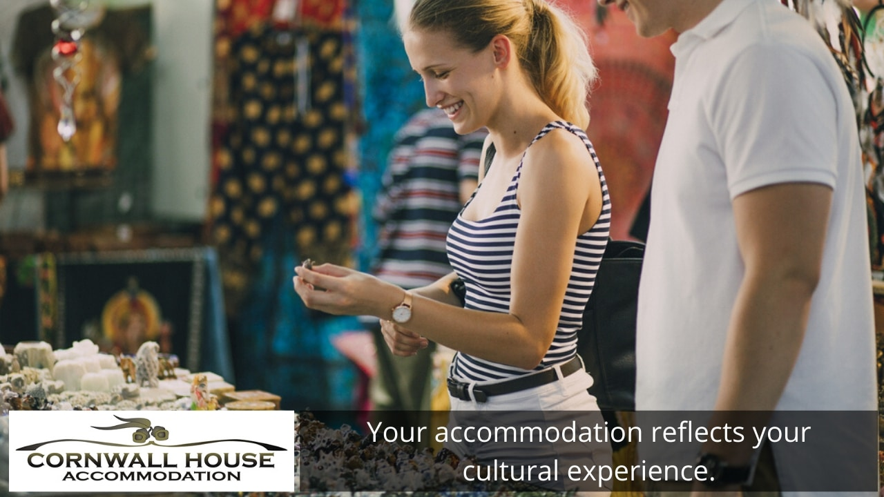 Your accommodation reflects your cultural experience.
