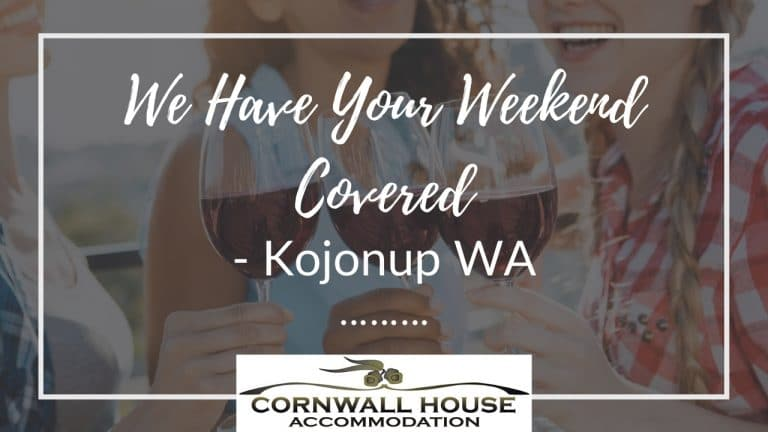 We have your weekend covered