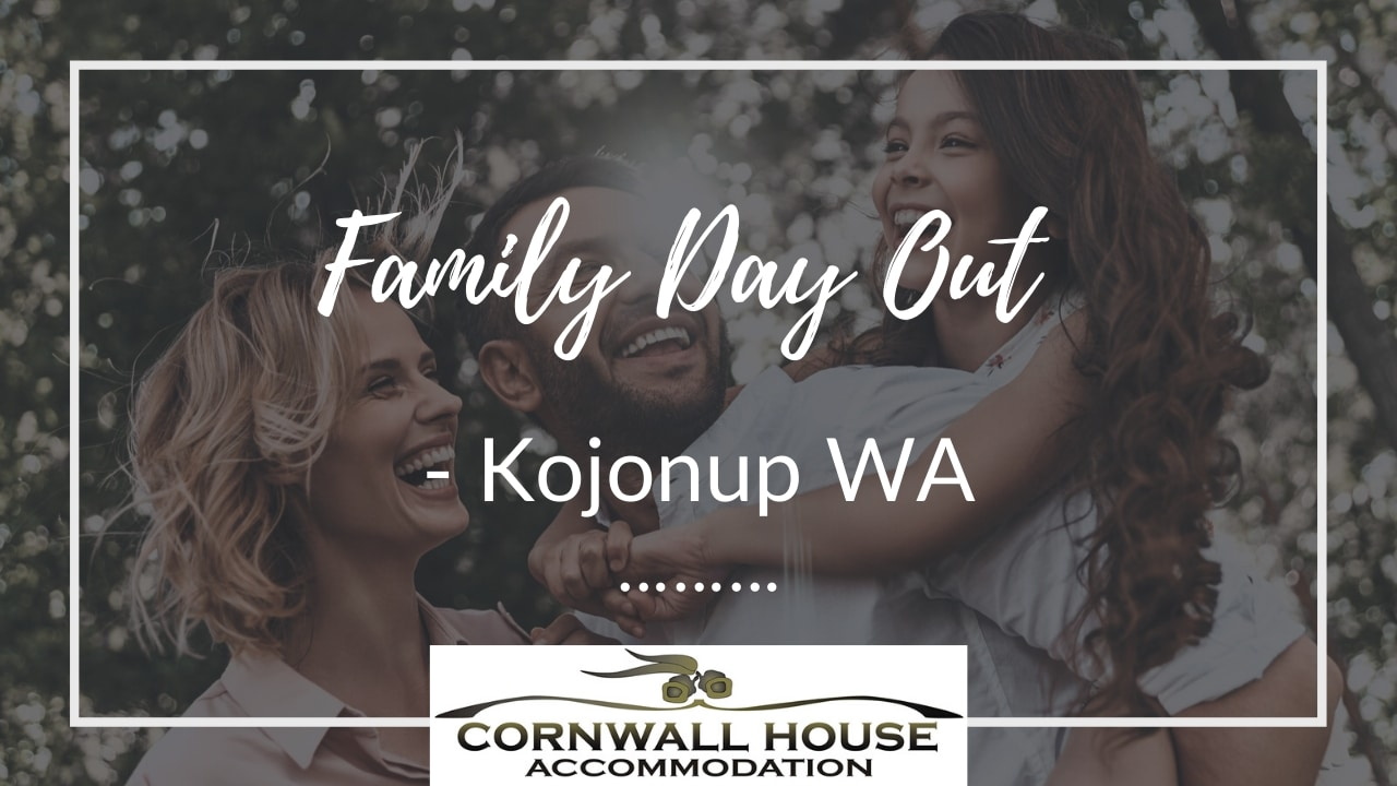 Family Day Out in Kojonup