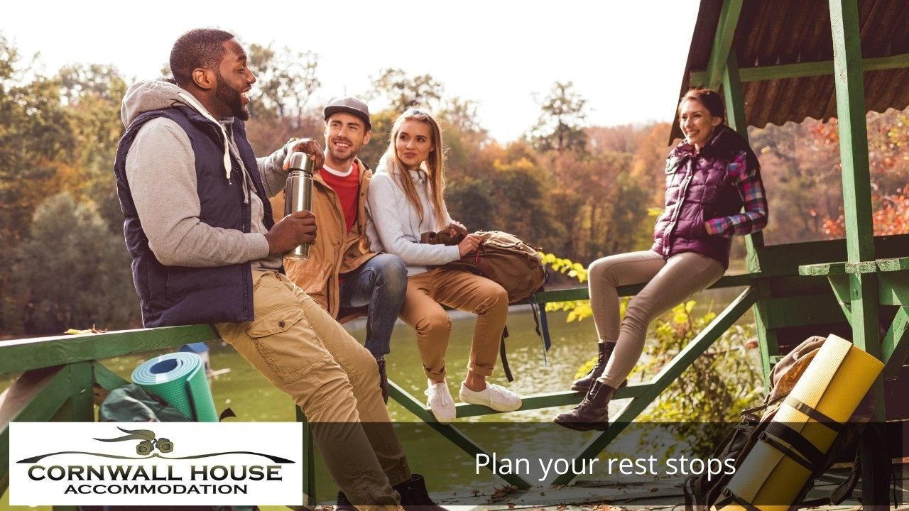 Plan your rest stops