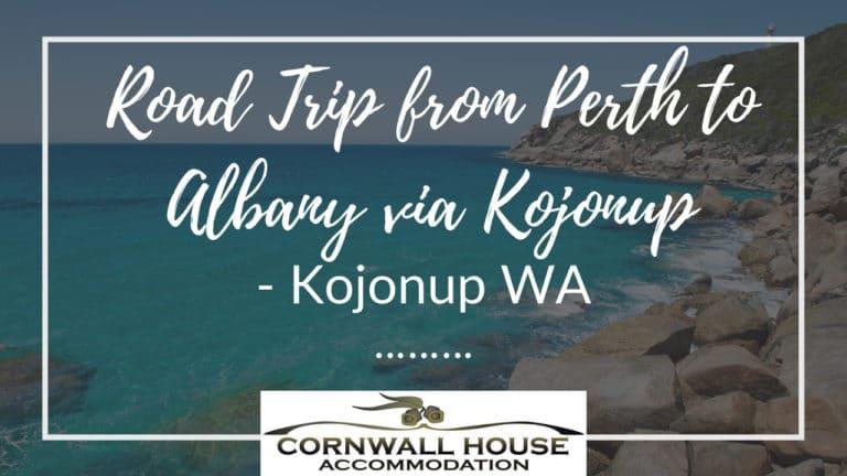 Road Trip from Perth to Albany via Kojonup