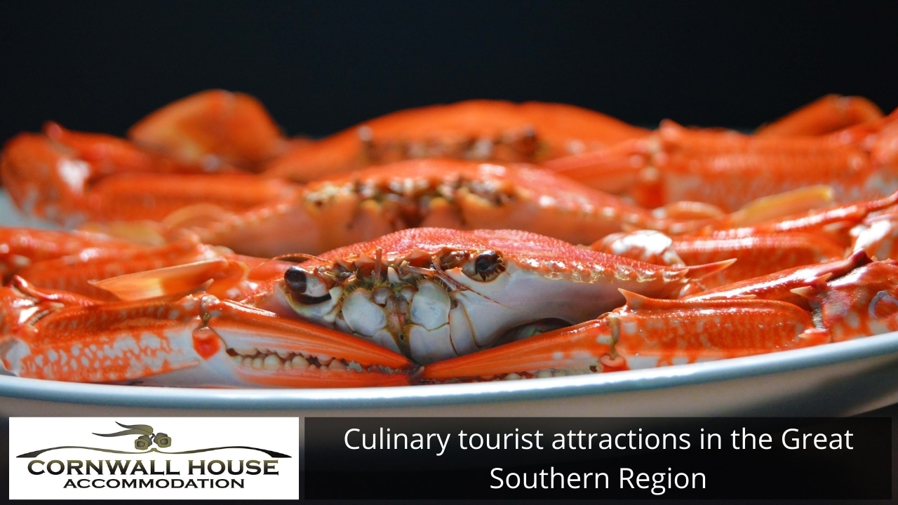 Culinary tourist attractions in the Great Southern Region