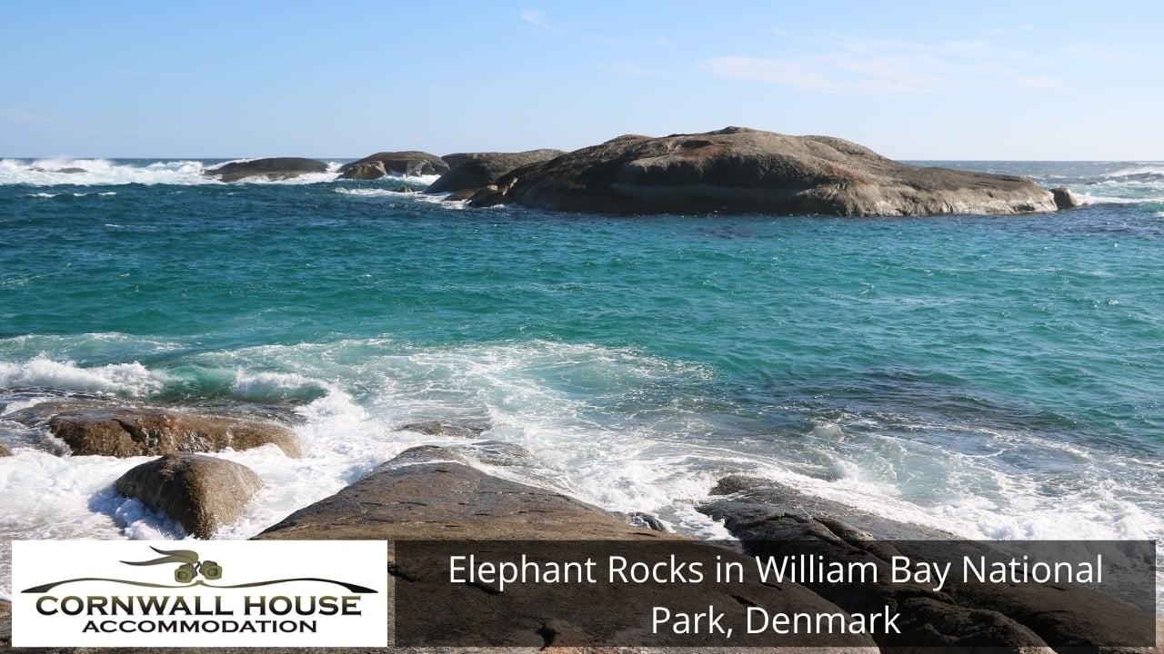 Elephant Rocks in William Bay National Park, Denmark
