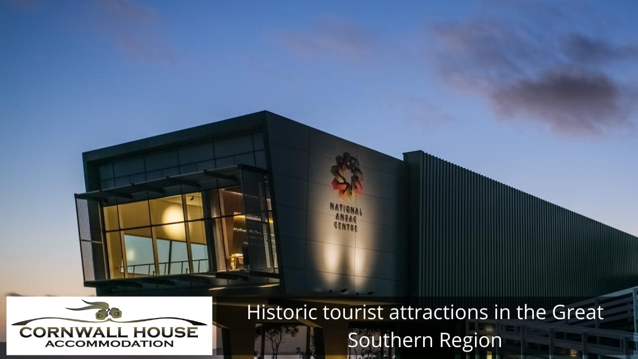 Historic tourist attractions in the Great Southern Region