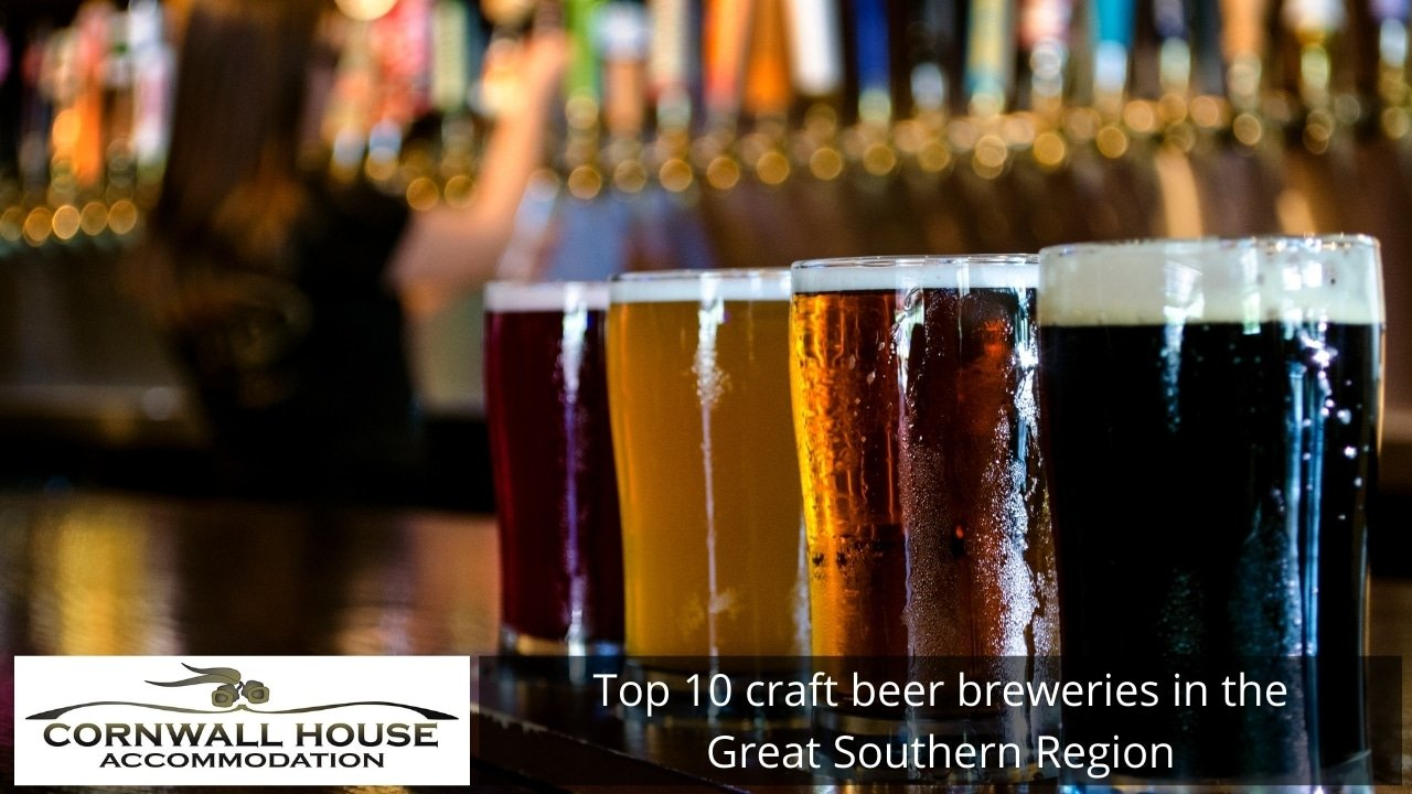 Top 10 craft beer breweries in the Great Southern Region