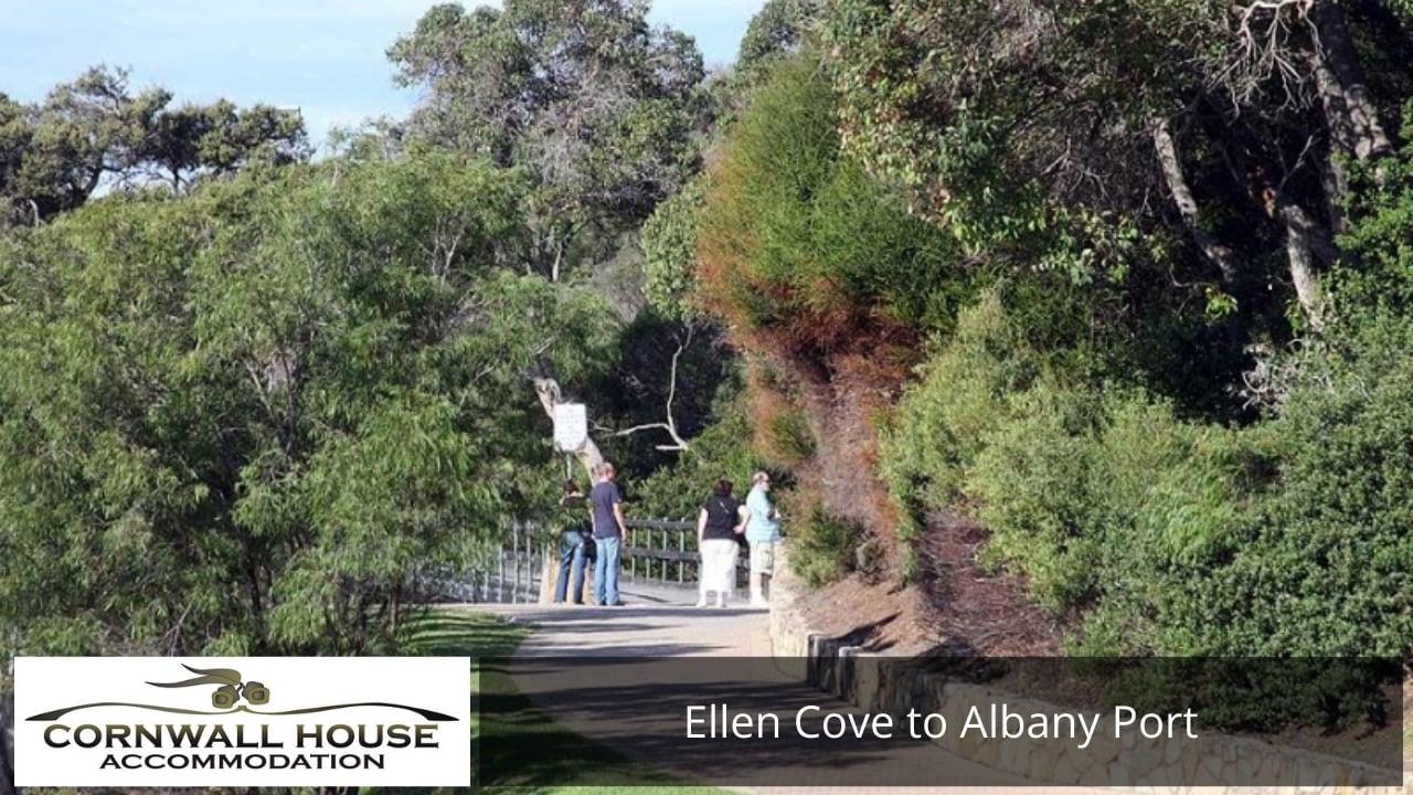 Ellen Cove to Albany Port