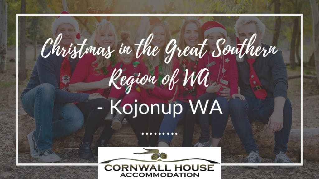 Christmas in the Great Southern Region of WA