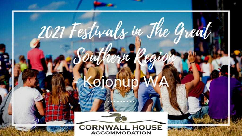 2021 Festivals in The Great Southern Region