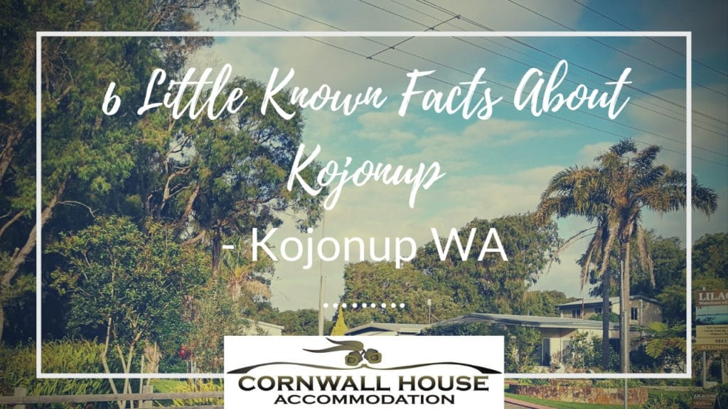 6 Little Known Facts About Kojonup - Motel Accommodation Kojonup - Cornwall House Accommodation
