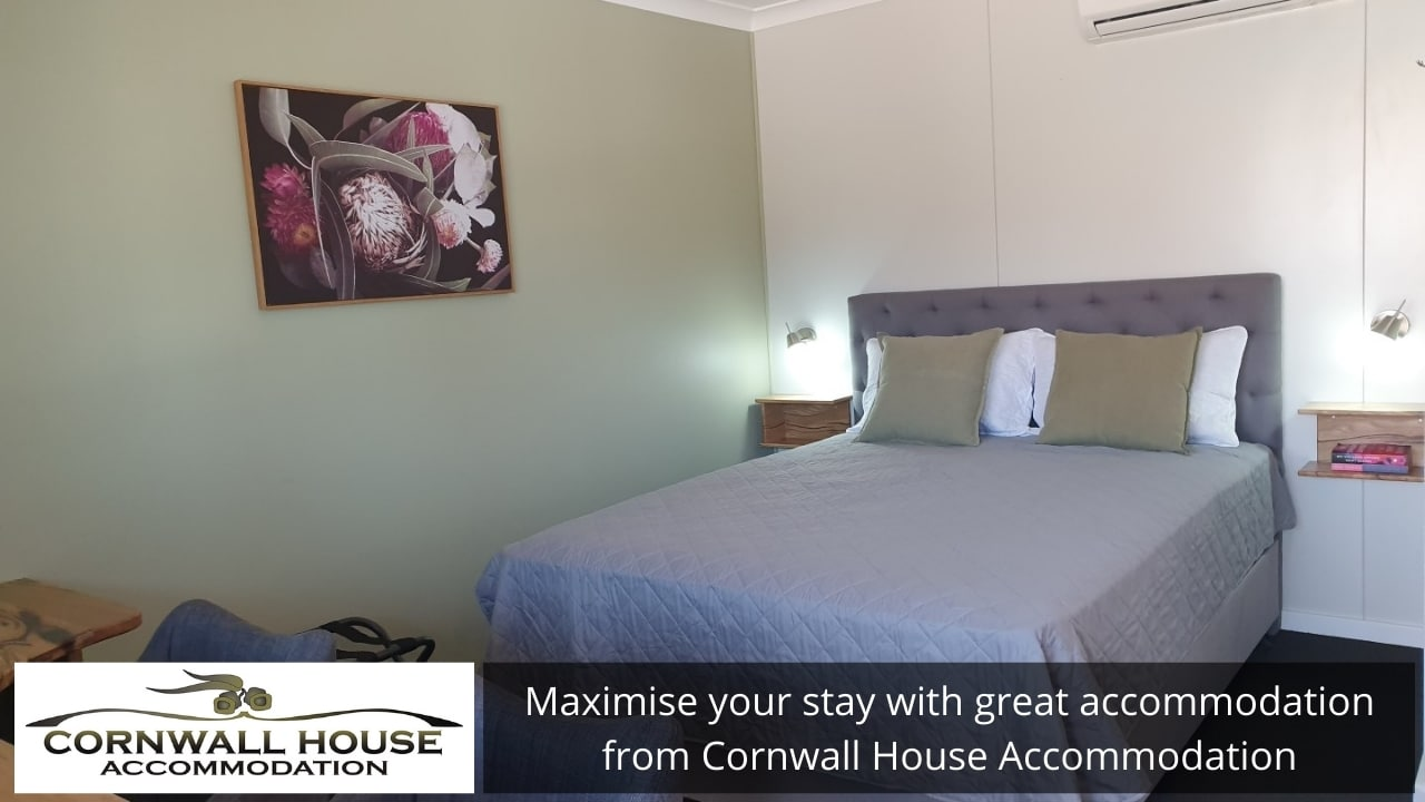 Maximise your stay with great accommodation from Cornwall House Accommodation