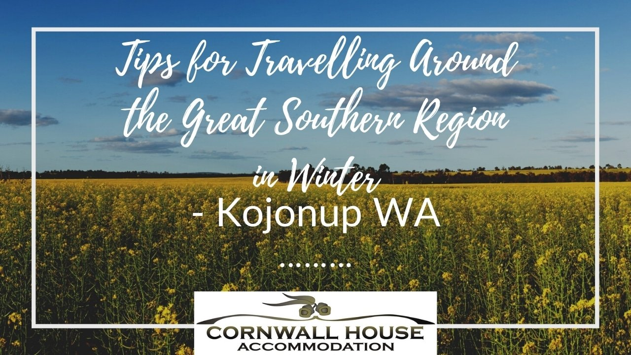 Tips for Travelling Around the Great Southern Region in Winter