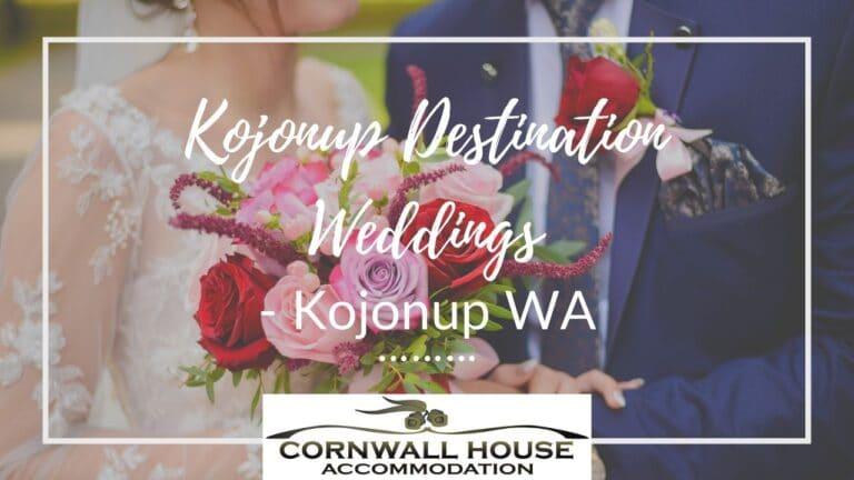 Kojonup Destination Weddings