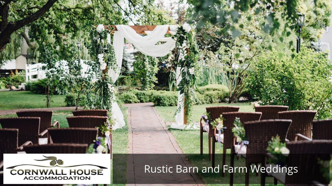 Rustic Barn and Farm Weddings