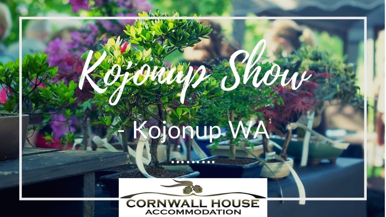 Kojonup Show